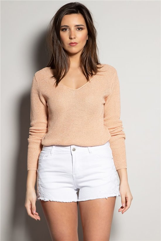 Sweater Sweater ANDREA Woman S20303W (53425) - DEELUXE-SHOP