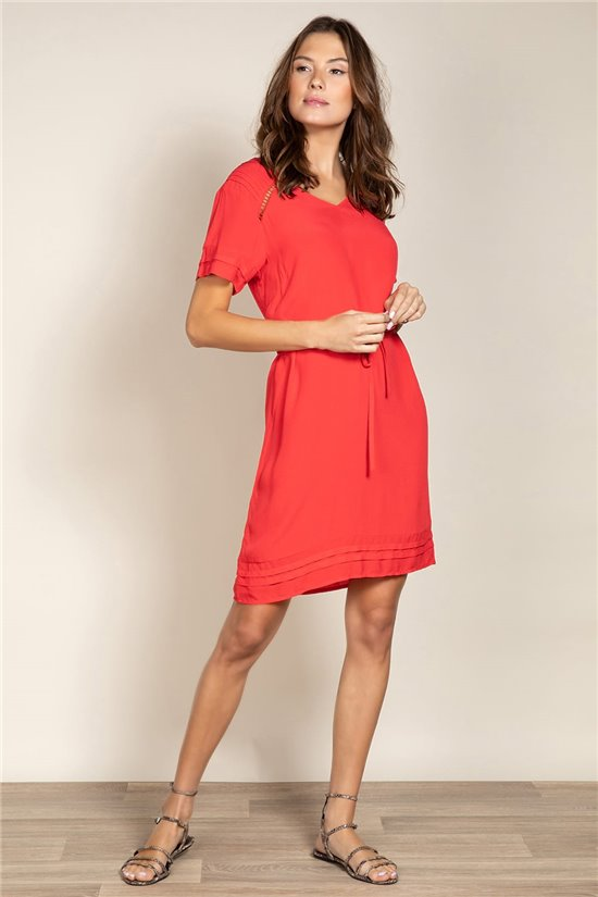 Dress Dress NEMI Woman S20214W (53500) - DEELUXE-SHOP