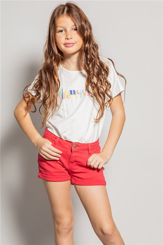Short Short CERISE Girl S20708G (53700) - DEELUXE-SHOP