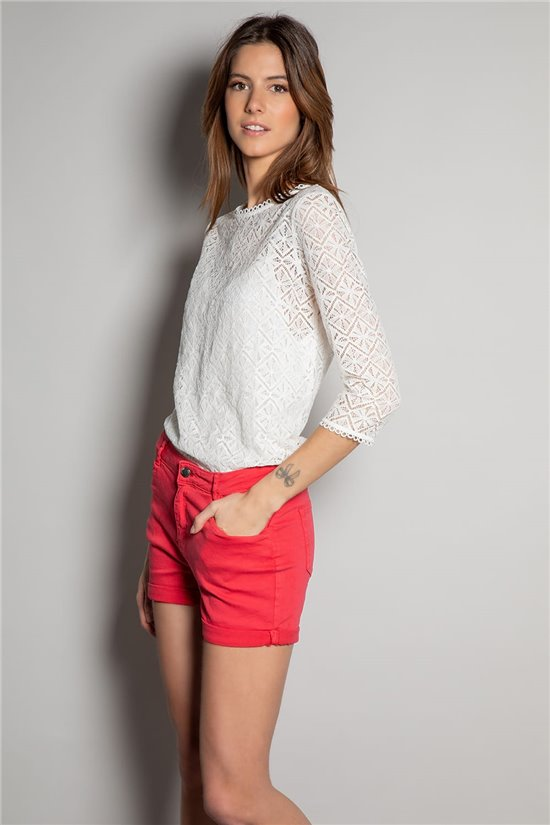 Short CERISE Woman S20708W (53735) - DEELUXE-SHOP