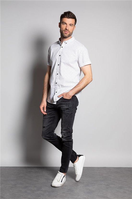 Shirt Shirt DOTZY Man S20438 (53896) - DEELUXE-SHOP