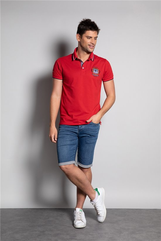 Polo shirt Polo shirt GOROU Man S20235 (54193) - DEELUXE-SHOP