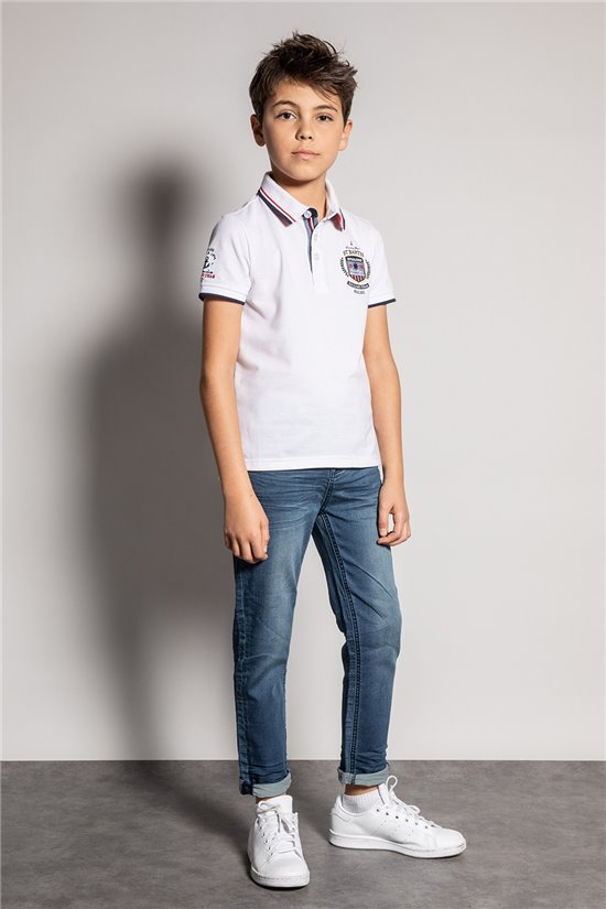 Polo shirt Polo shirt GOROU Boy S20235B (54382) - DEELUXE-SHOP