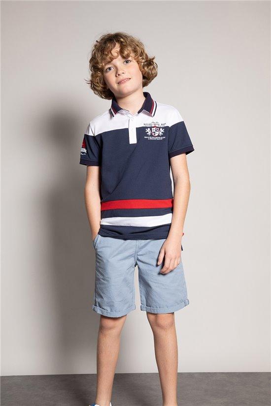 Polo shirt LYSSEN Boy S20234B (54397) - DEELUXE-SHOP