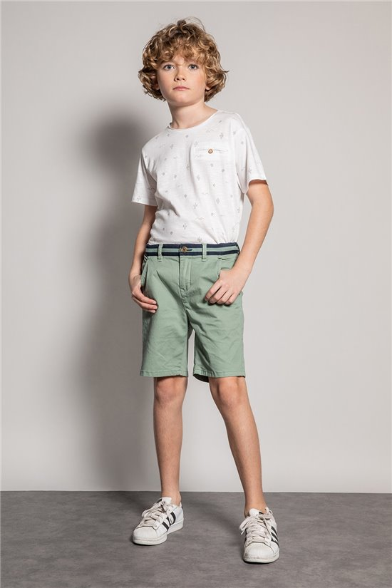Short Short VERDE Boy S20707B (54462) - DEELUXE-SHOP