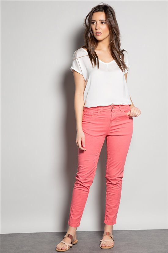 Pant Pant POLY Woman S20728W (54677) - DEELUXE-SHOP