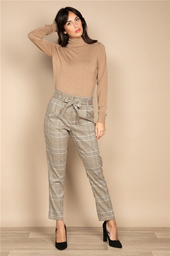 Pant TROUSERS ALINE Woman W20733W (54891) - DEELUXE-SHOP