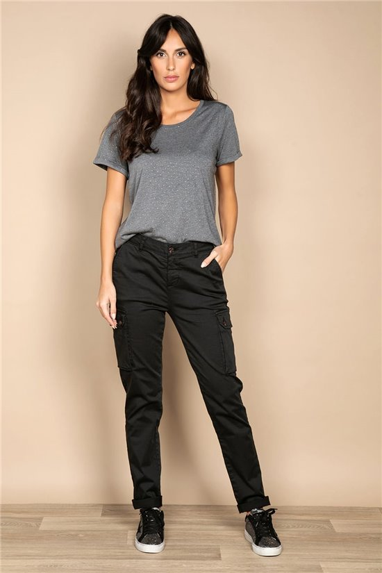 Pant TROUSERS TESS Woman W20734W (54896) - DEELUXE-SHOP