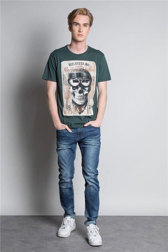 T-shirt T-SHIRT CLEM Man W20196M (54975) - DEELUXE-SHOP