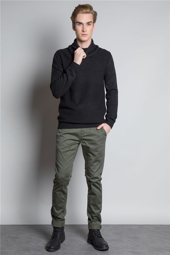 Sweater PULL ANDREW Man W20329M (54995) - DEELUXE-SHOP