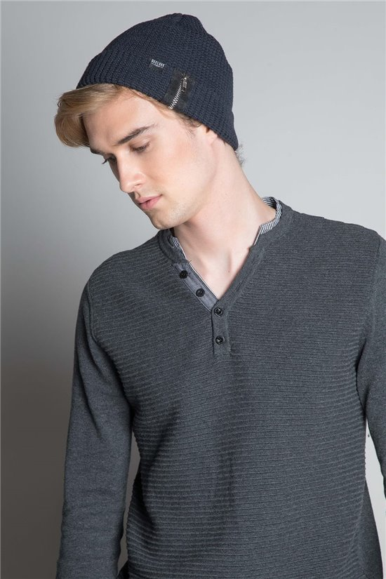 Beanie HAT HARVAY Man W20924M (55056) - DEELUXE-SHOP