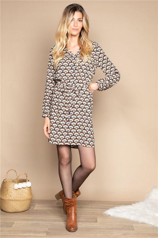 Dress DRESS MAGDALINA Woman W20224W (55143) - DEELUXE-SHOP