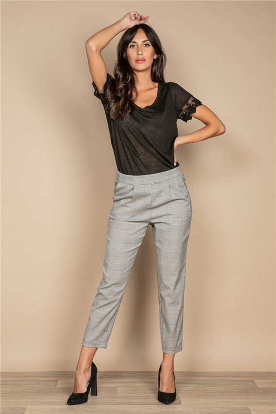 Pant TROUSERS NADEGE Woman W20725W (55163) - DEELUXE-SHOP