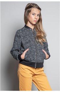 Jacket BOMBER EMMA Girl W20604G (55198) - DEELUXE-SHOP