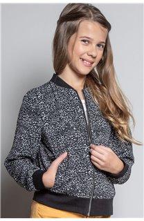 Jacket BOMBER EMMA Girl W20604G (55202) - DEELUXE-SHOP