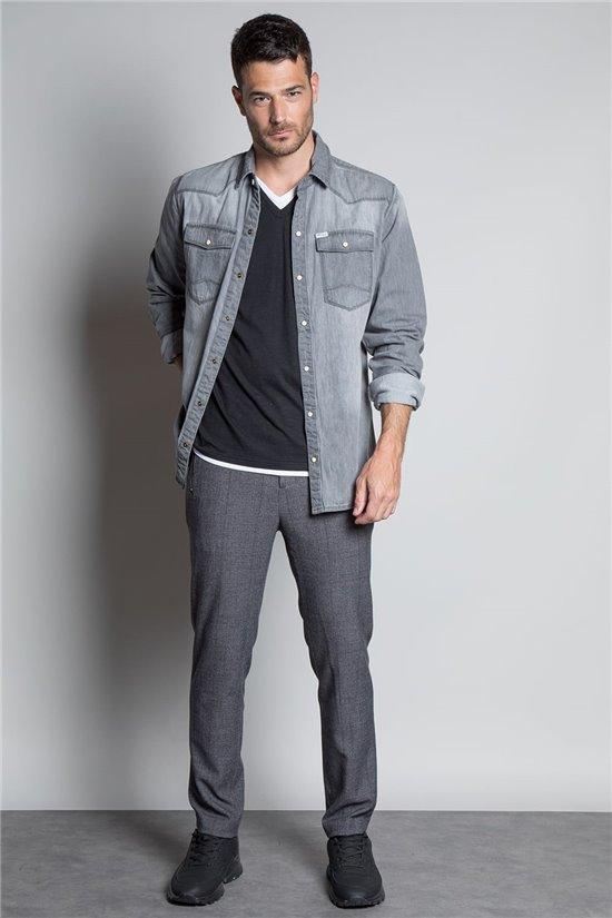 Shirt SHIRT FLUSHING Man W20408M (55213) - DEELUXE-SHOP