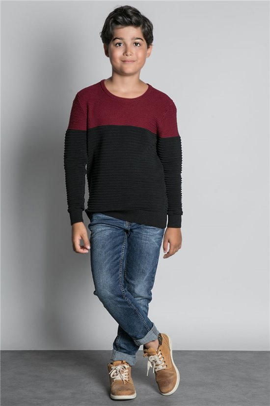 Sweater SWEATER BROOK Boy W20320B (55258) - DEELUXE-SHOP