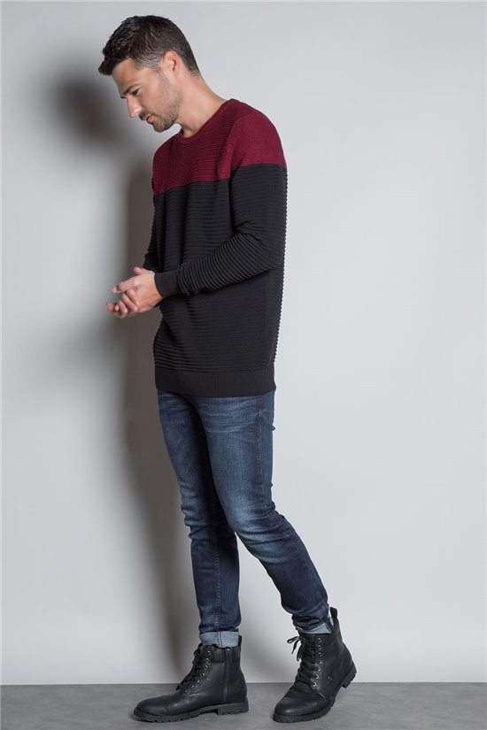 Sweater PULL BROOK Man W20320M (55283) - DEELUXE-SHOP
