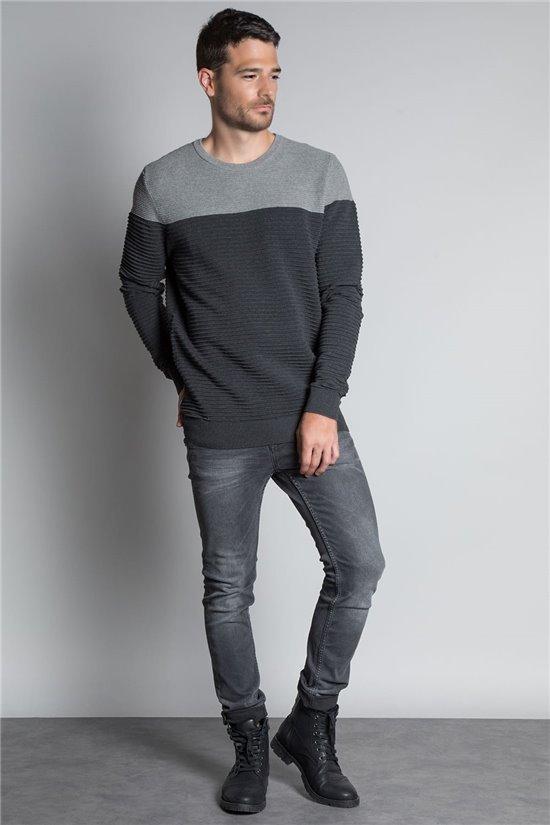 Sweater PULL BROOK Man W20320M (55283) - DEELUXE-SHOP