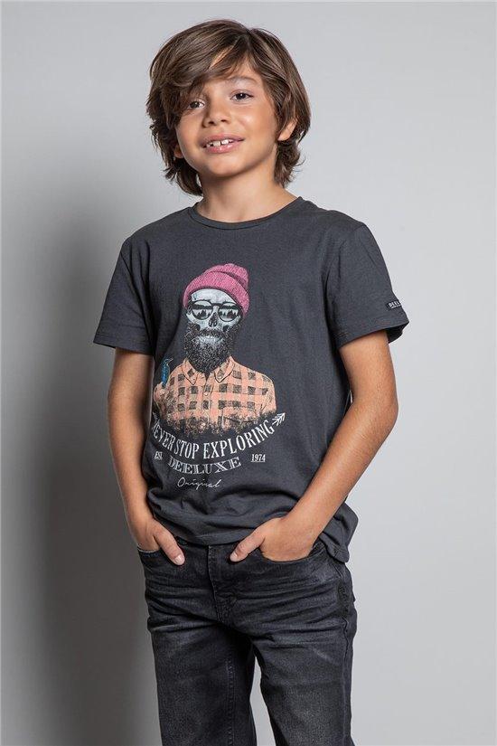 T-shirt T-SHIRT TELLSON Boy W20156B (55348) - DEELUXE-SHOP