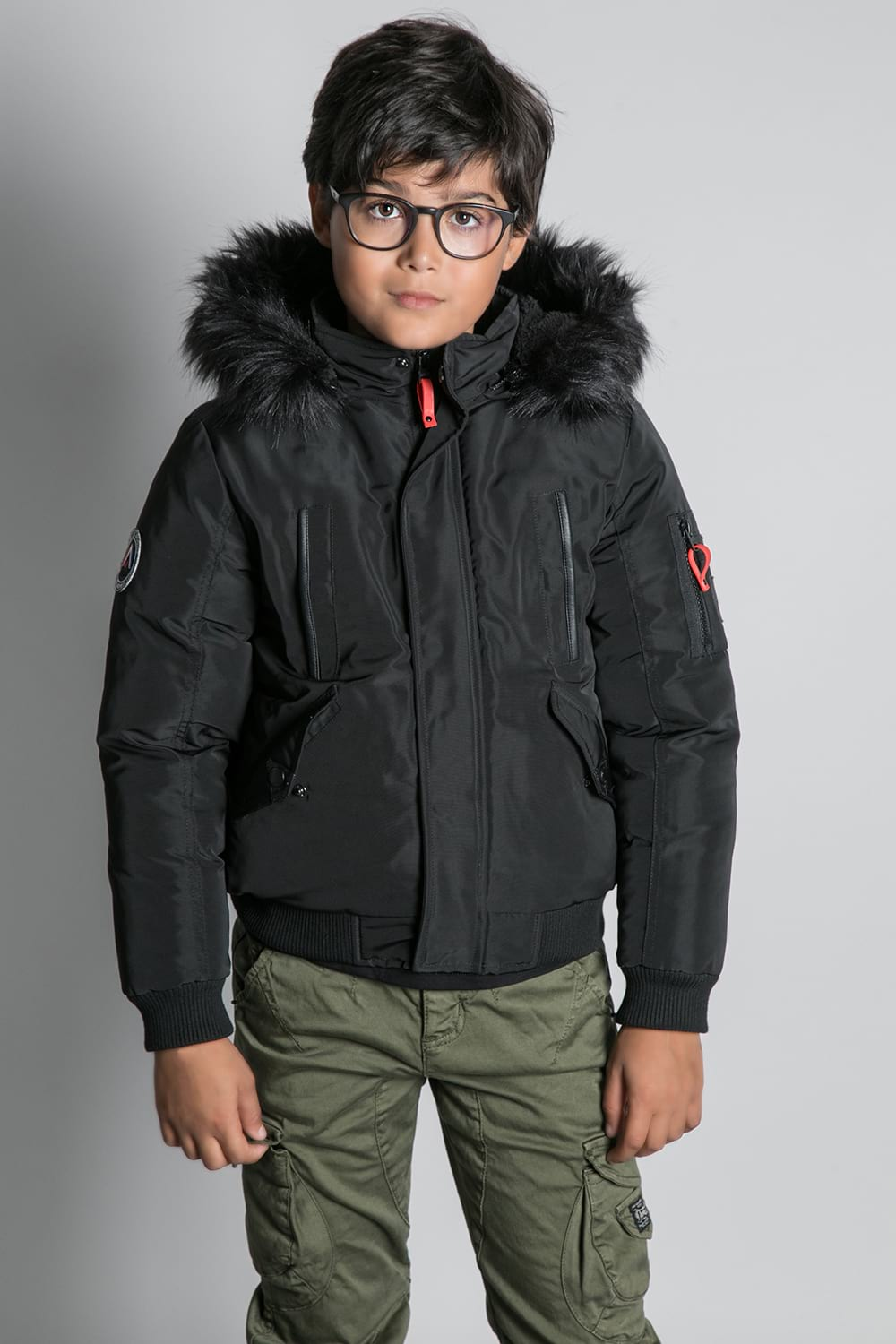Parka PARKA SHARK Boy W20650B (55388) - DEELUXE-SHOP