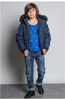 Parka PARKA SHARK Boy W20650B (55393) - DEELUXE-SHOP