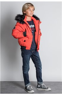 Parka PARKA SHARK Boy W20650B (55399) - DEELUXE-SHOP