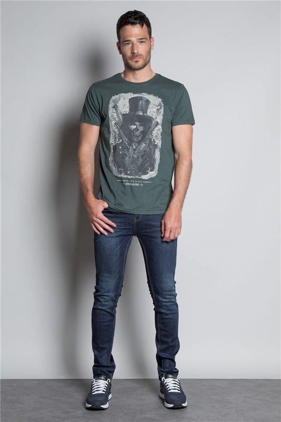 T-shirt T-SHIRT GUNS Man W20199M (55433) - DEELUXE-SHOP