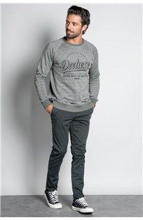 Sweatshirt SWEATSHIRT MERIBEL Man W20530M (55509) - DEELUXE-SHOP