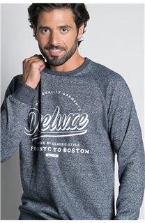 Sweatshirt SWEATSHIRT MERIBEL Man W20530M (55517) - DEELUXE-SHOP