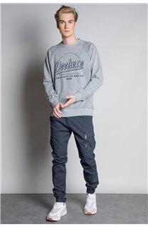 Sweatshirt SWEATSHIRT MERIBEL Man W20530M (55519) - DEELUXE-SHOP