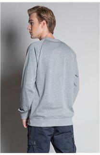 Sweatshirt SWEATSHIRT MERIBEL Man W20530M (55521) - DEELUXE-SHOP