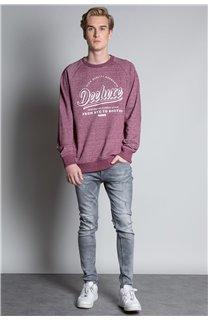 Sweatshirt SWEATSHIRT MERIBEL Man W20530M (55524) - DEELUXE-SHOP