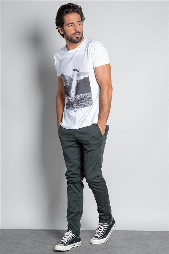 T-shirt T-SHIRT EXTRA Man W20138M (55543) - DEELUXE-SHOP