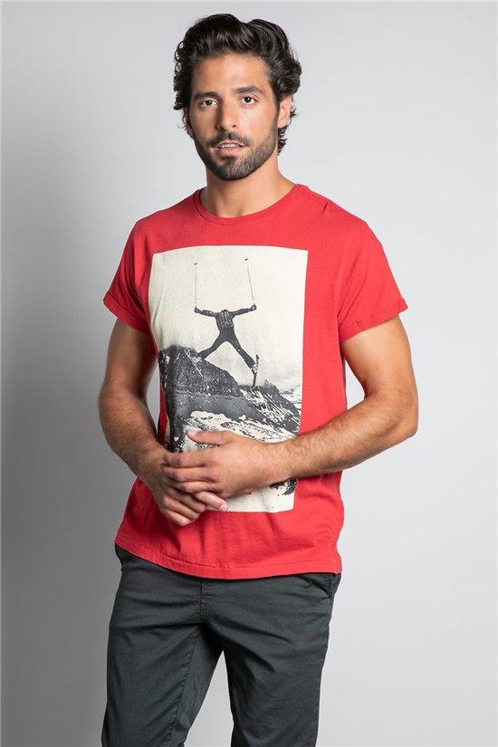 T-Shirt T-SHIRT HELP Man W20114M (55553) - DEELUXE-SHOP