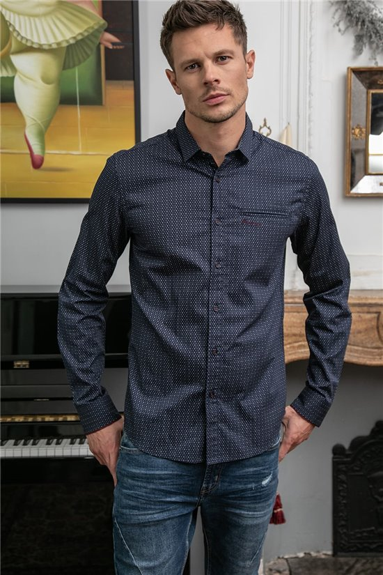 Shirt SHIRT POSTAL Man W20415M (55602) - DEELUXE-SHOP