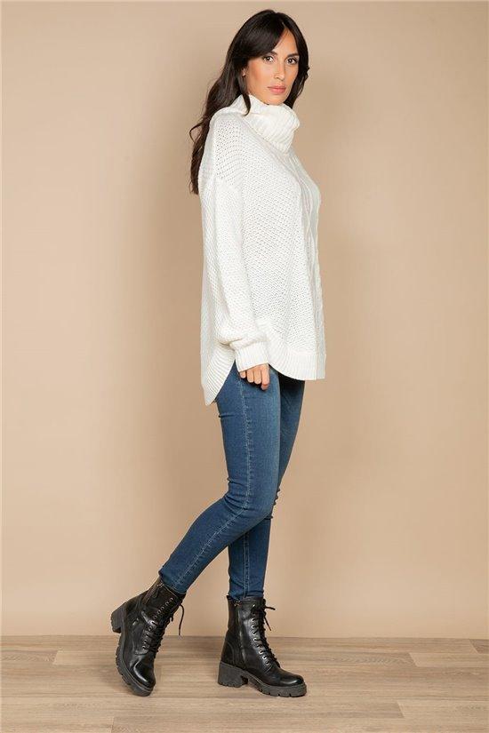 Sweater JUMPER JUMPY Woman W20322W (55675) - DEELUXE-SHOP