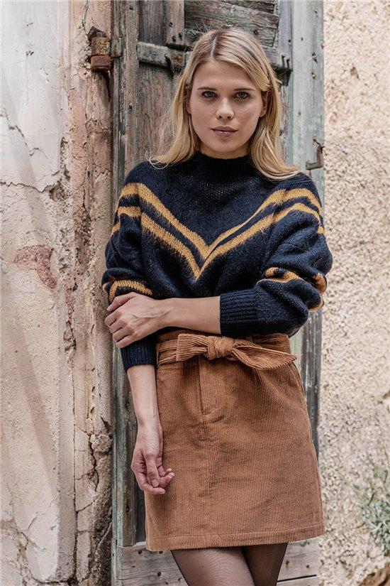 Sweater JUMPER SOPHIE Woman W20307W (55770) - DEELUXE-SHOP