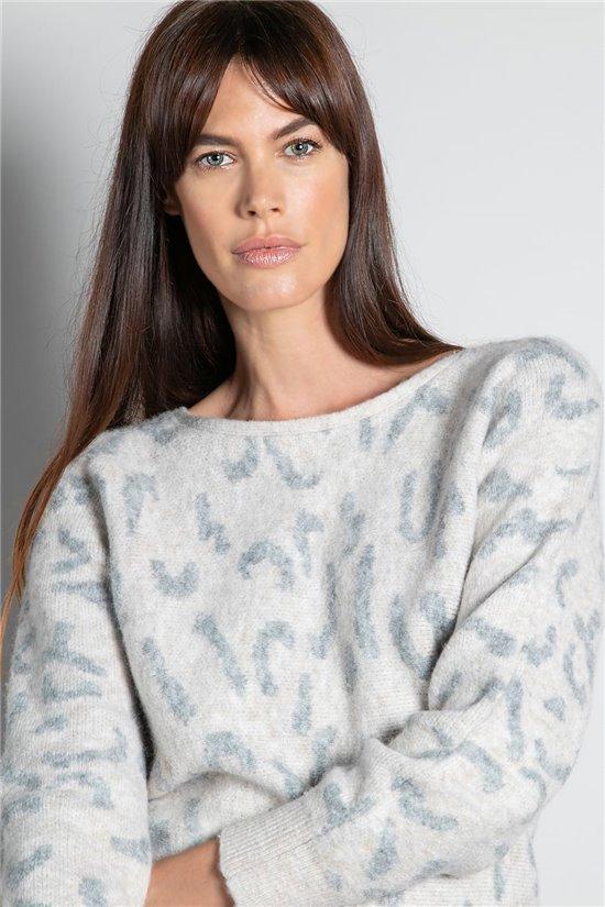 Sweater JUMPER COLOMBA Woman W20314W (55844) - DEELUXE-SHOP
