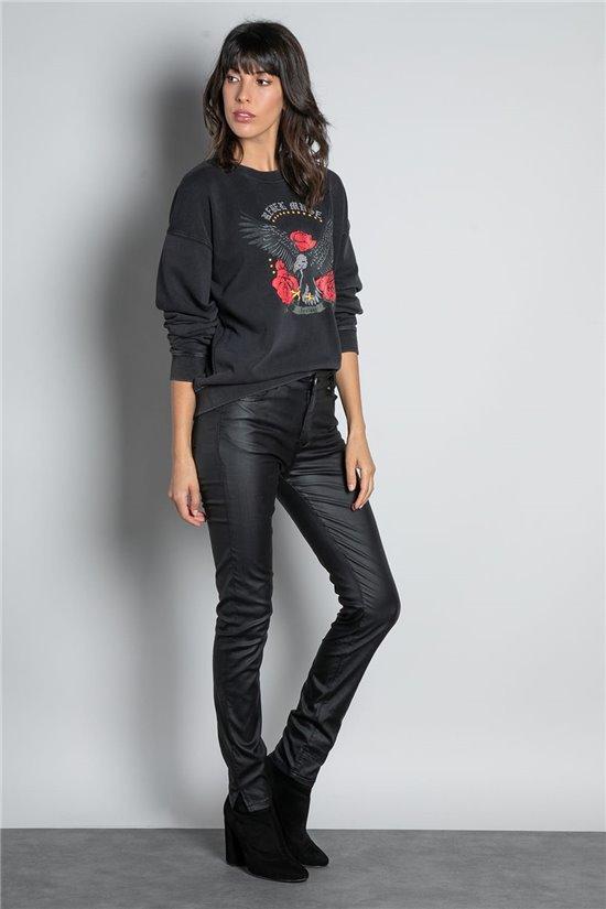 Sweatshirt SWEATSHIRT EAGLE Woman W20505W (55891) - DEELUXE-SHOP