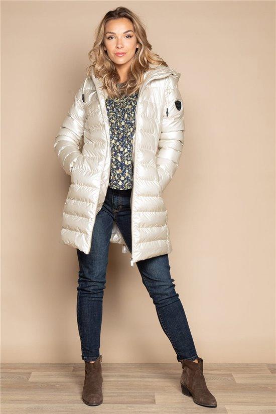 Puffy Jacket COAT NOUCHKA Woman W20661W (55921) - DEELUXE-SHOP