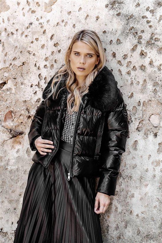 Puffy Jacket JACKET BLANDINE Woman W20670W (55936) - DEELUXE-SHOP