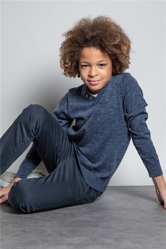 Sweater JUMPER SINGLE Boy W20317B (55973) - DEELUXE-SHOP