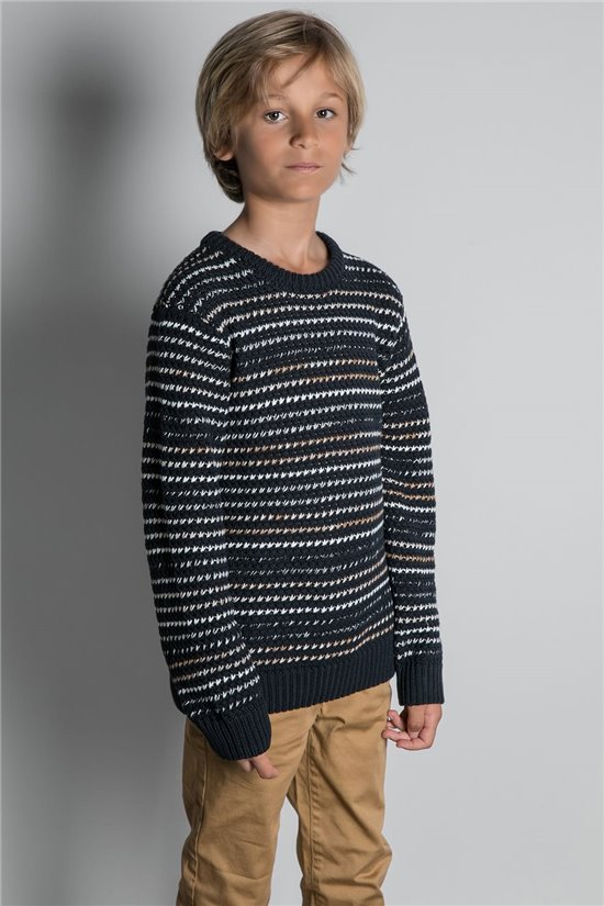 Sweater JUMPER CHAMONIX Boy W20324B (55978) - DEELUXE-SHOP