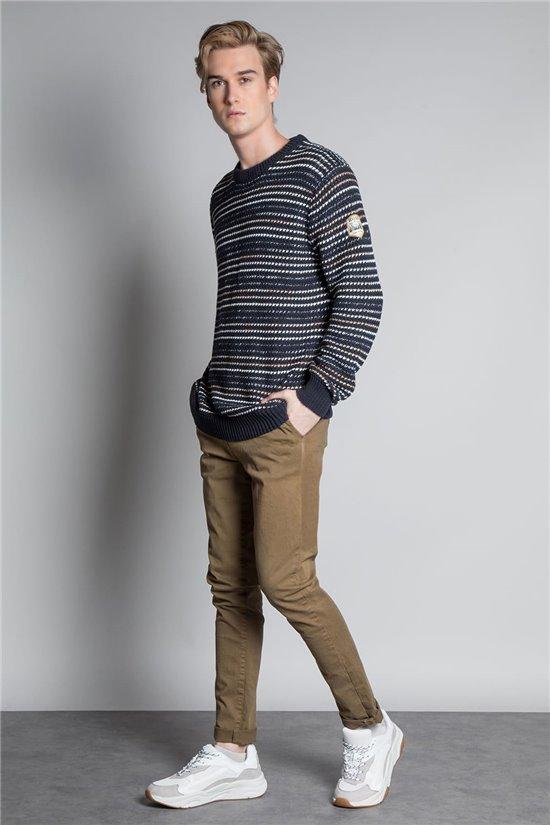 Sweater PULL CHAMONIX Man W20324M (56098) - DEELUXE-SHOP
