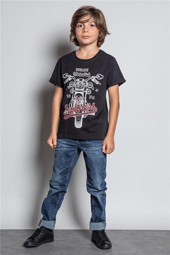 T-shirt T-SHIRT ENGINE Boy W20175B (56194) - DEELUXE-SHOP