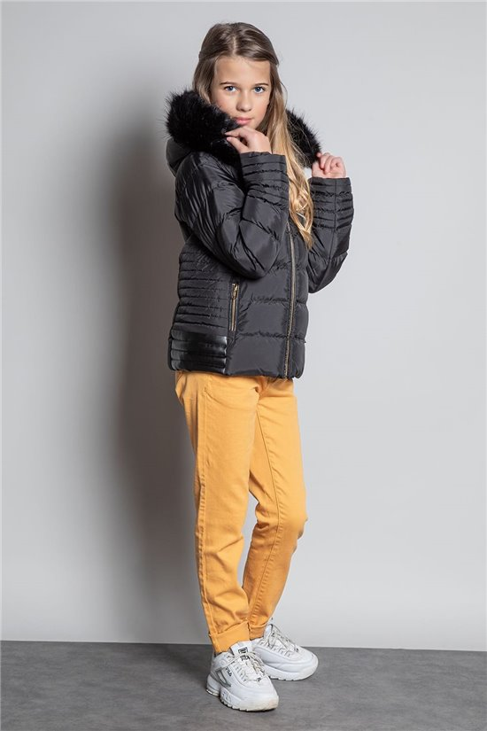 Puffy Jacket JACKET CHRISTINE Girl W20666G (56204) - DEELUXE-SHOP