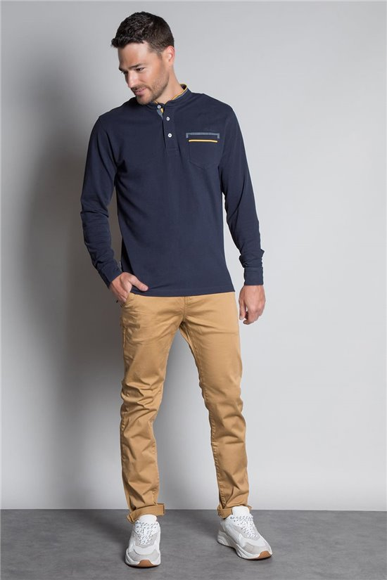 Polo shirt POLO FJORD Man W20203M (56357) - DEELUXE-SHOP