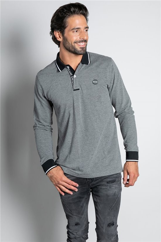 Polo shirt POLO TOSHI Man W20215M (56542) - DEELUXE-SHOP