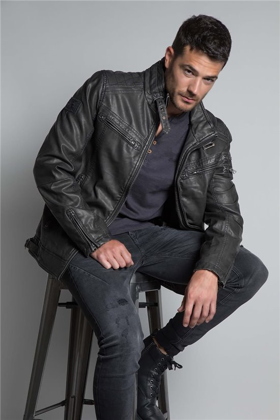 Jacket JACKET SPANGLE Man W20665M (56562) - DEELUXE-SHOP